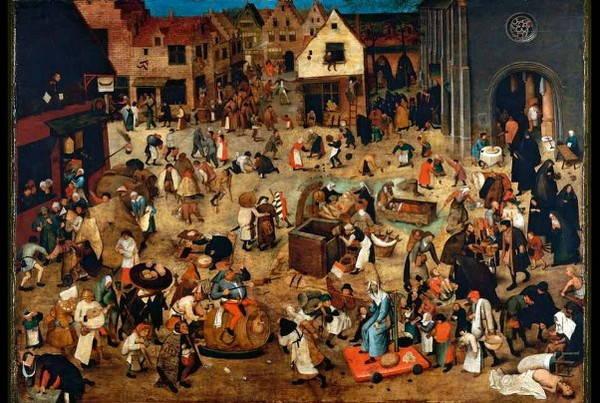 Je Fais Des Recherches Sur Le Carnaval Et Un Tableau De Bruehgel Balises Bpi