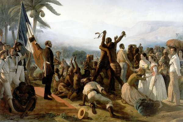 L'abolition de l'esclavage dans les colonies françaises