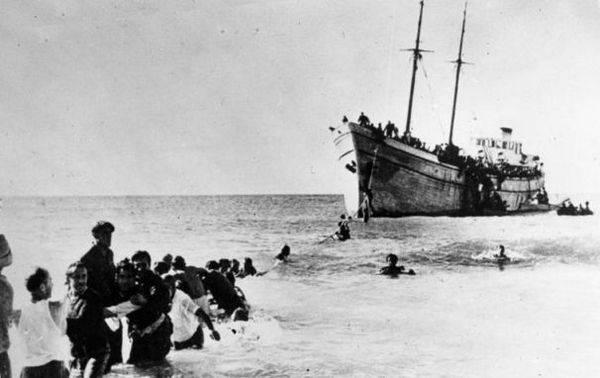 Photos de 1948, juifs immigrés
