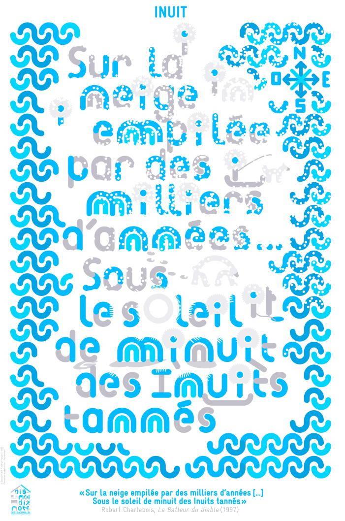 Affiche pour le mot Inuit