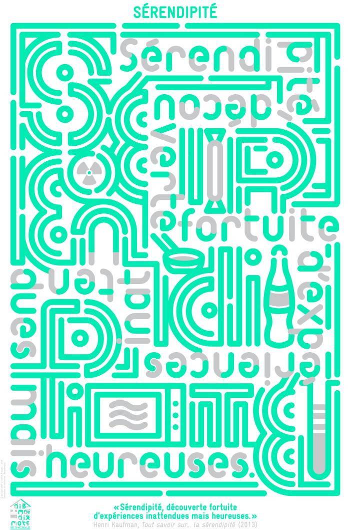 Affiche pour le mot Sérendipité