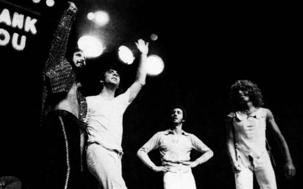 Photo du groupe The Who en 1974