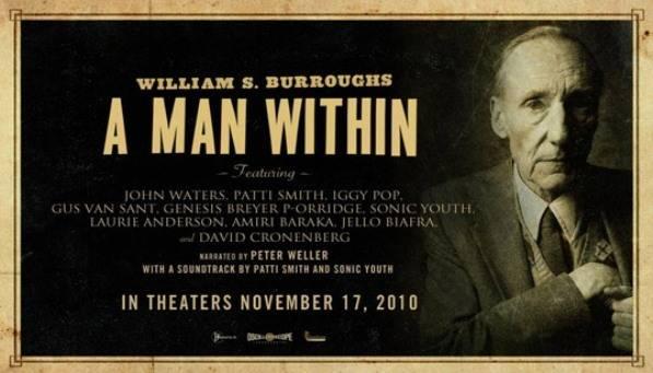 Affiche du film William Burroughs, a man within