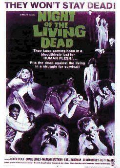 affiche film la nuit des morts vivants