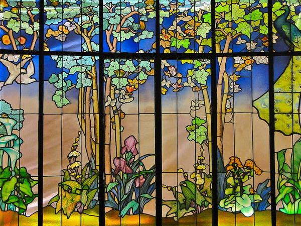 Véranda Art nouveau