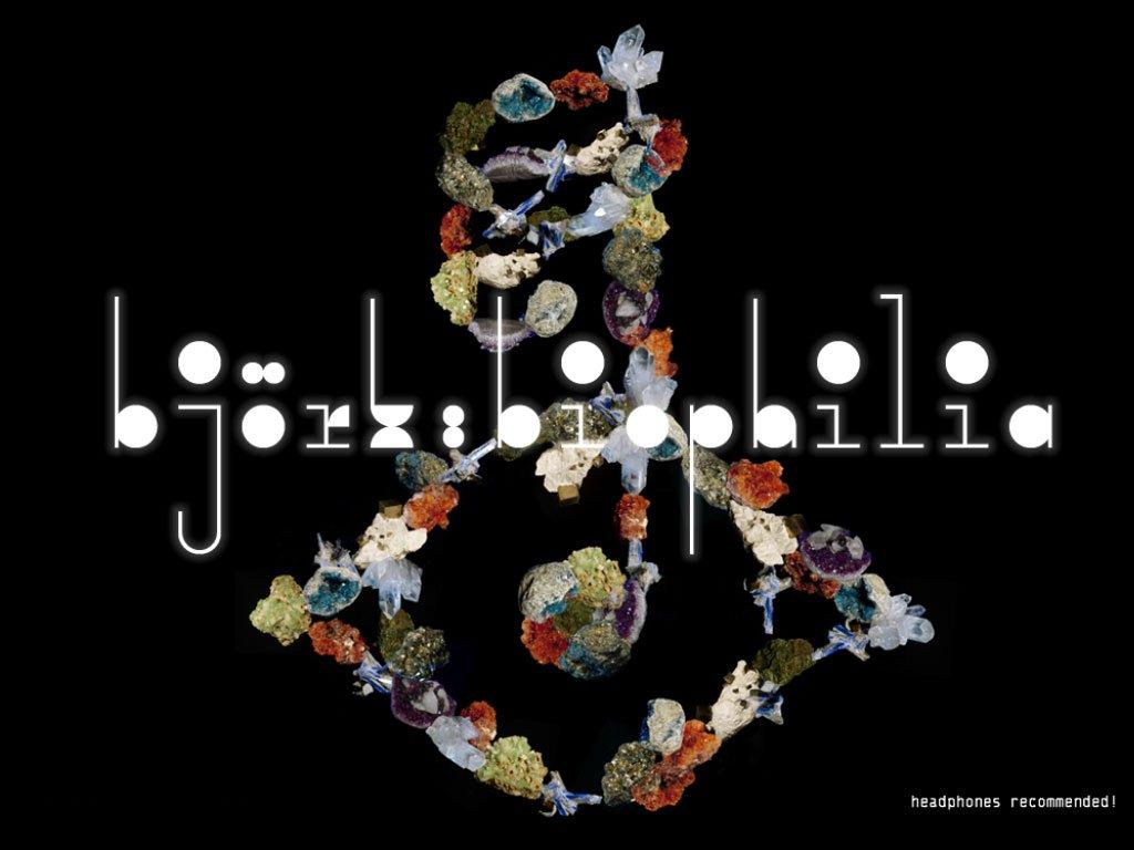 Visuel Björk, Biophilia