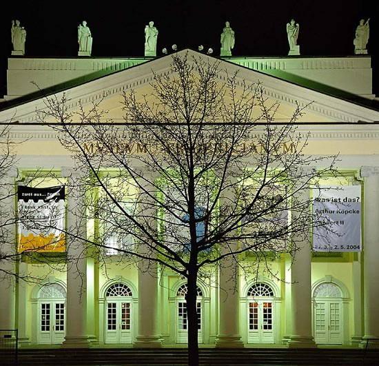Chêne à Kassel planté par Joseph Beuys