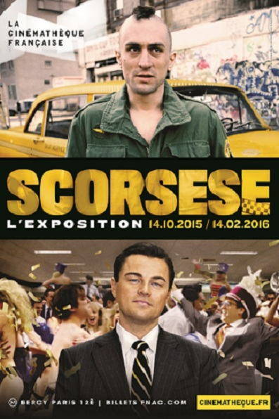 Affiche exposition Scorsese
