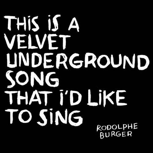 Pochette de l'album This is a Velvet Underground song
