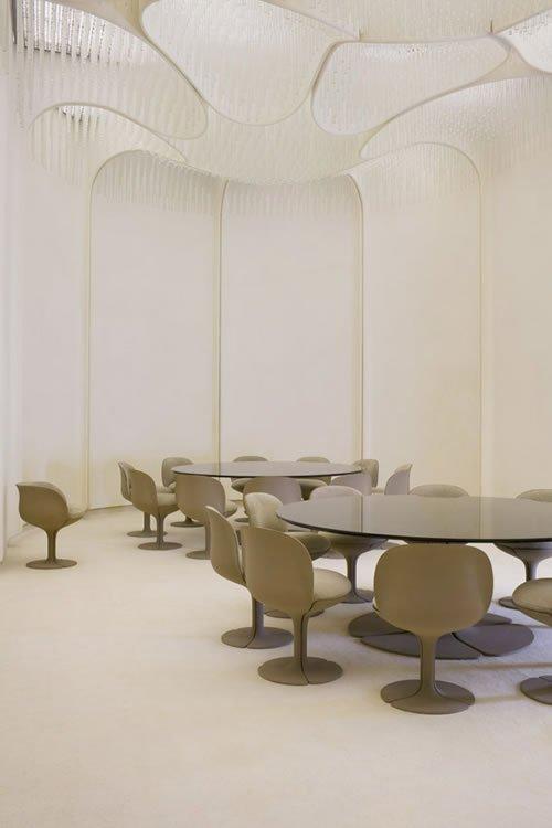 Appartements privés de Georges Pompidou à l'Elysé