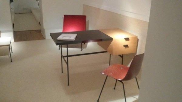 Mobilier Paulin à la Galerie Pascal Cuisinier