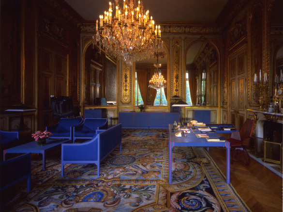 Mobilier de François Mitterrand à l'Elysée