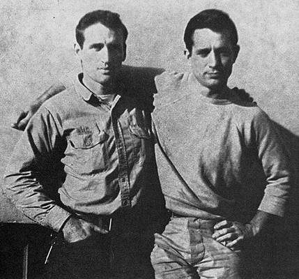 Photo de Jack Kerouac et Neal Cassady
