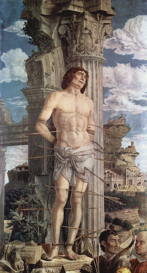 Mantegna, Saint Sebastien