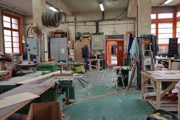 L'atelier bois du DOC