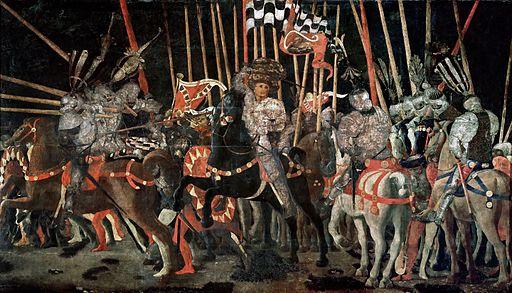 Bataille de San Romano, Ucello