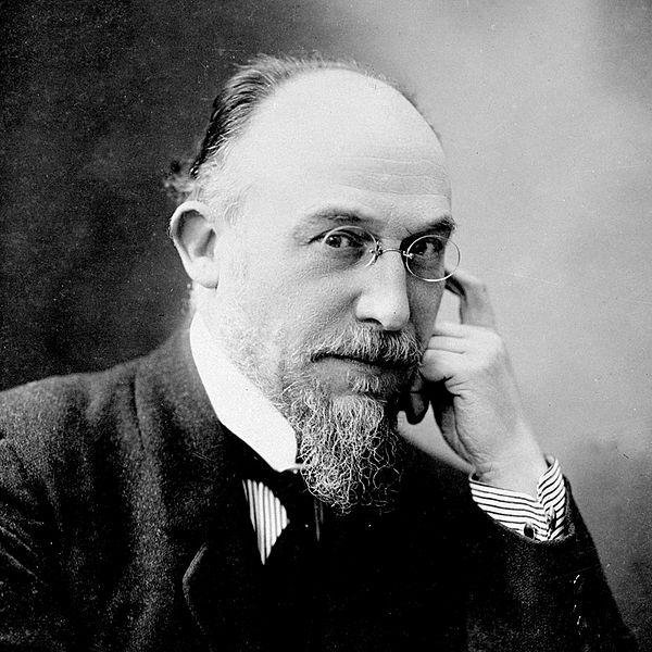Portrait d'Erik Satie