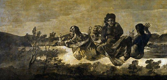 les trois Parques par Goya Musée du Prado, Madrid