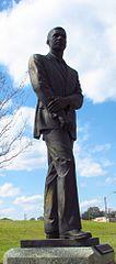 Photo de la statue de Medgar Evers à Jackson, Mississippi
