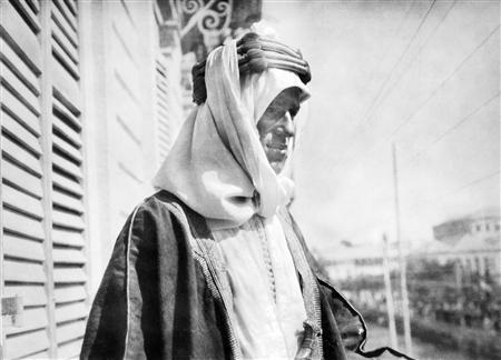 T.E. Lawrence à Damas