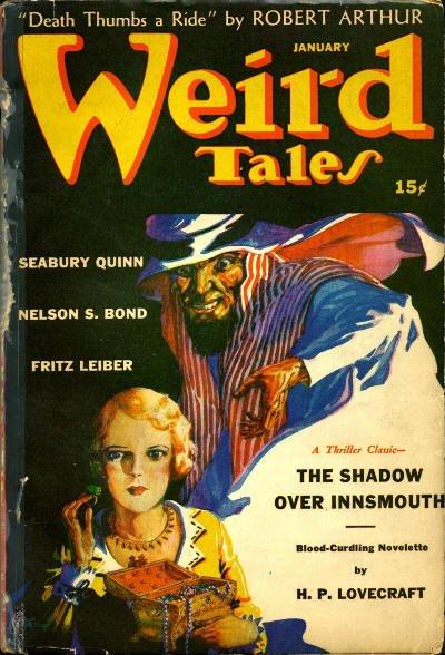 Pulp magazine Weird Tales