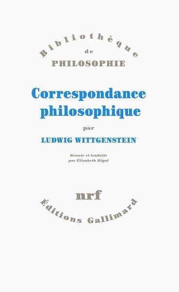 Correspondance philosophique - couverture