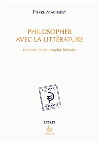 Philosopher avec la littérature - couverture