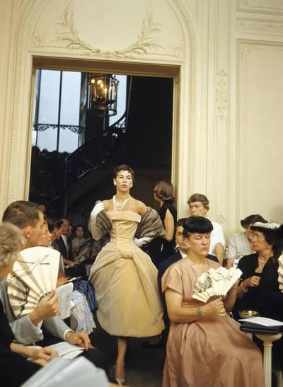 Défilé chez Dior