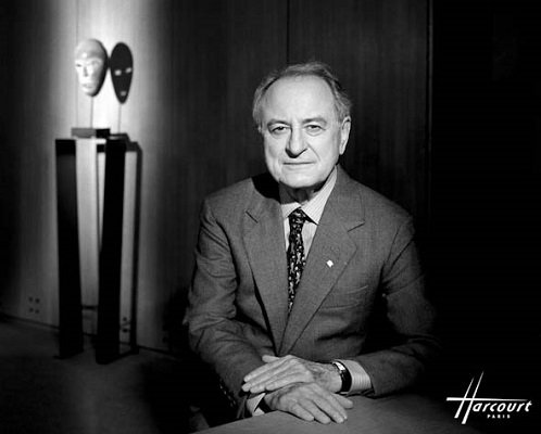 Portrait de Pierre Bergé par le Studio Harcourt