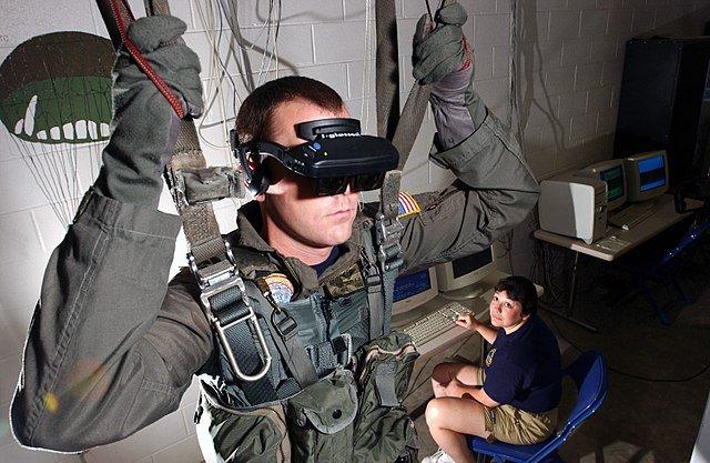 simulateur de parachute