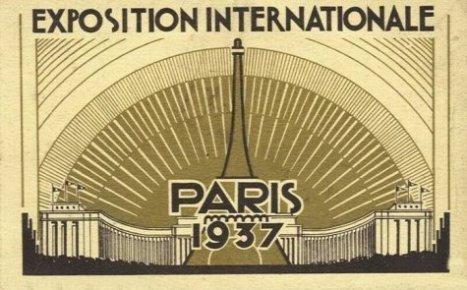 Affiche de l'Exposition internationale 1937