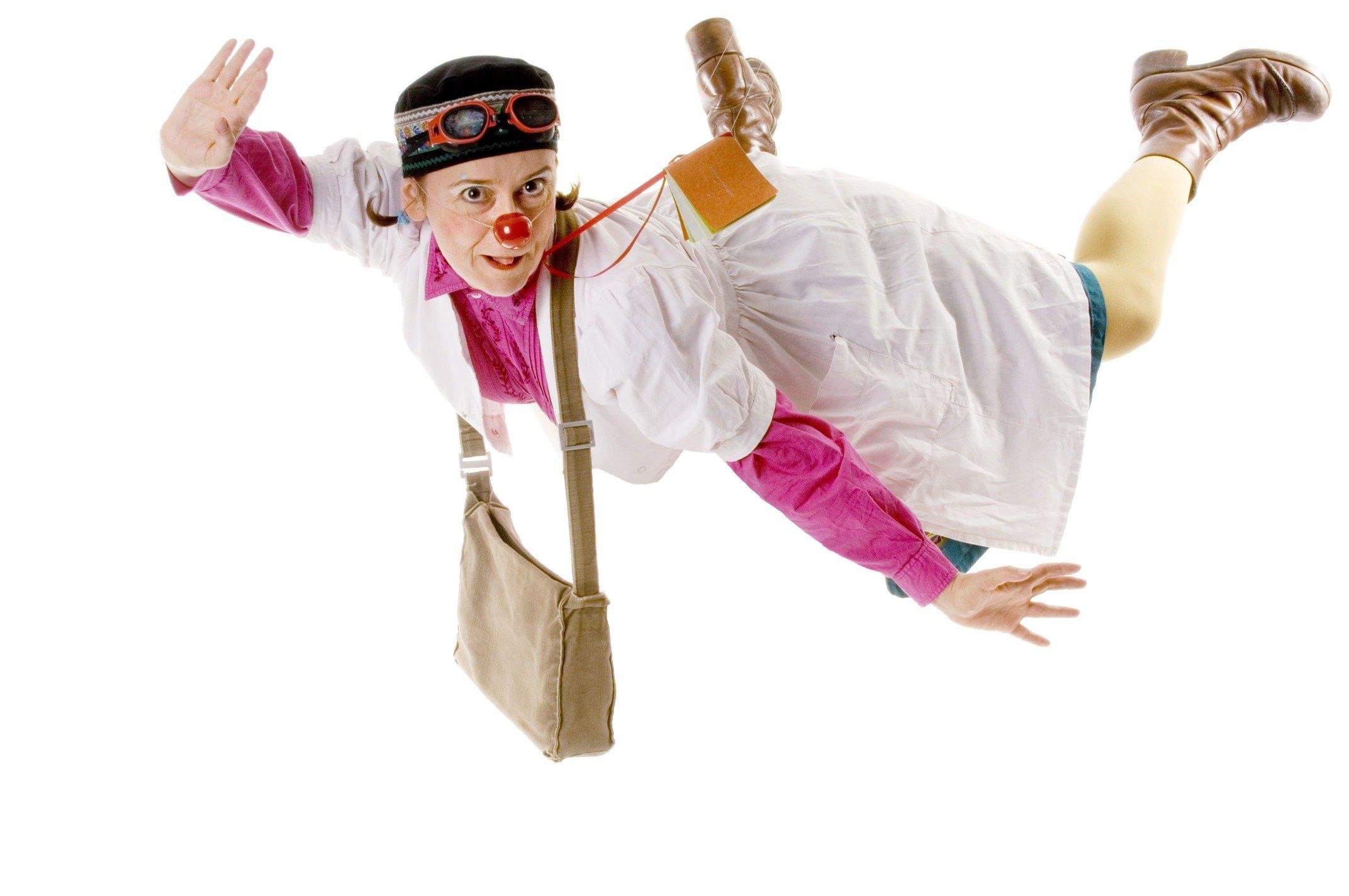 Osseïn, clown du Rire médecin