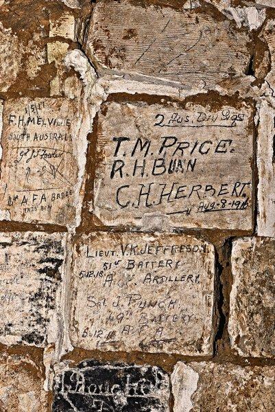 inscriptions durant la guerre 14-18