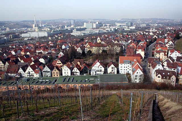 vue de Stuttgart