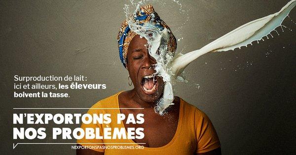 Affiche n'exportons pas nos problèmes