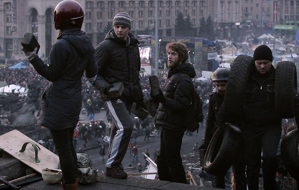 Photogramme de Maidan, S. Loznitsa