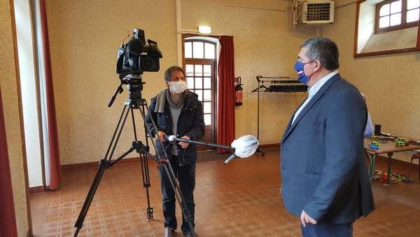 Nicolas Corbard, journaliste, en interview avec protections sanitaires