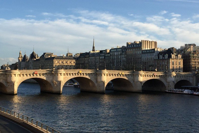 Photo du pont Neuf à Paris